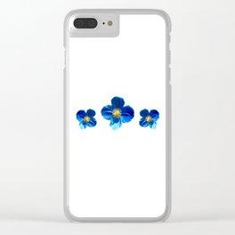 Poppy blast Clear iPhone Case