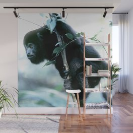 Howler Monkey in Costa Rica Wall Mural
