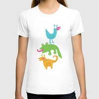 monsters T-shirts featuring monsters by LOLIA-LOVA