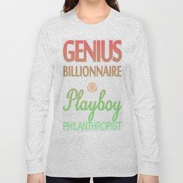 GENIUS TONY Long Sleeve T-shirt