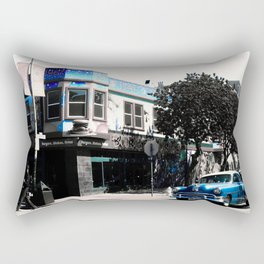 San Francisco Car Rectangular Pillow