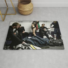 Ice Time Rug