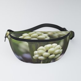 Green Aralia Flowers Fanny Pack