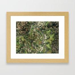 Road to Hana Framed Art Print