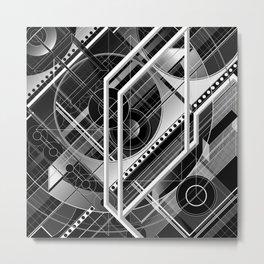 J.Series.127.BW Metal Print