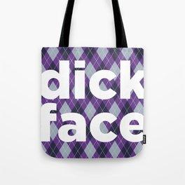 dick face Tote Bag