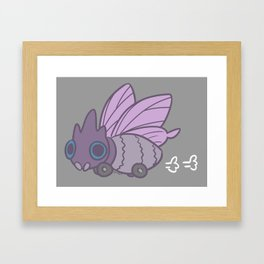 All-Terrain Venomoth Framed Art Print