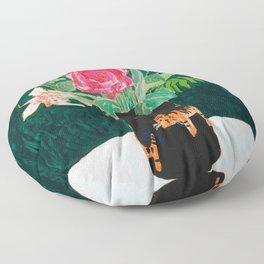 Tiger Vase Floor Pillow