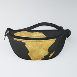 Gold Africa Fanny Pack