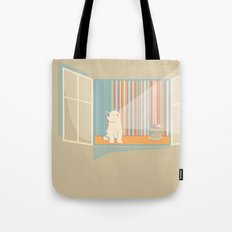 Catching some morning sun Tote Bag