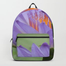 Blue Water Lilies in Hangzhou Backpack