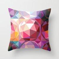 Geodesic dome pattern Throw Pillow