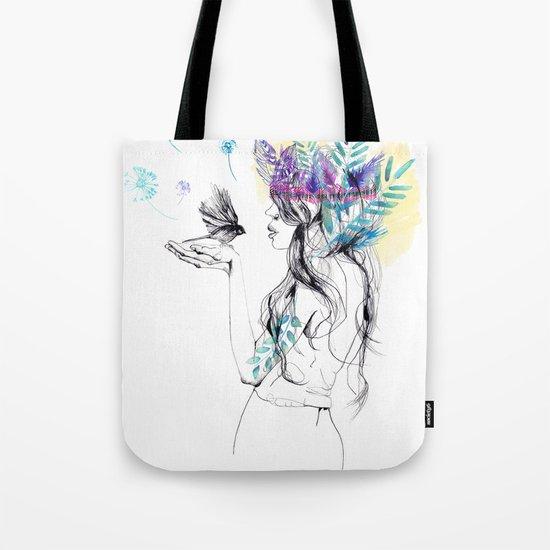 Nature Girl Tote Bag