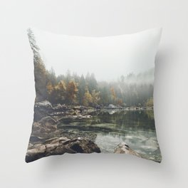Serenity - Landscape Photography Throw Pillow