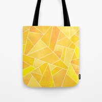 sunshine Tote Bags featuring Sunshine by Elisabeth Fredriksson