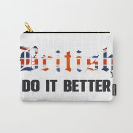British do it better. UK Carry-All Pouch