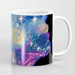Star Girl cosmic pretty face Coffee Mug