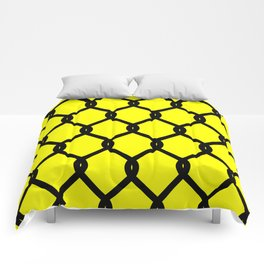 Chain-Link Fence (from Design Machine archives) Comforters