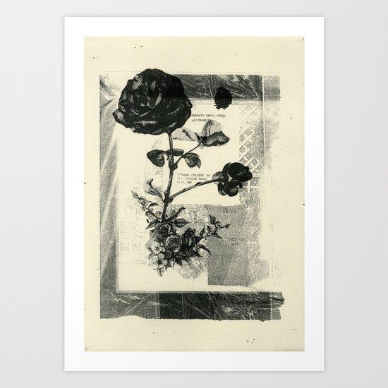 The Art Of Flower Arrangement 1 Art Print