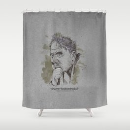 Victor Ambartsumian Shower Curtain