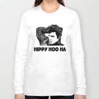 elvis presley Long Sleeve T-shirts featuring Elvis Presley by Hippy Hoo Ha