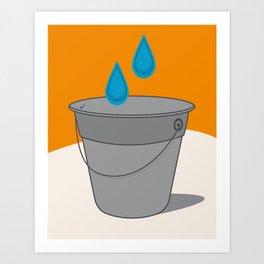 Two Tears in a Bucket Art Print