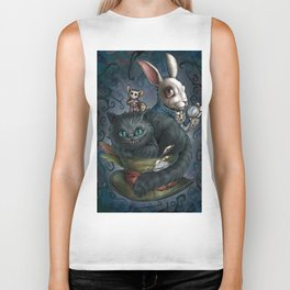 The Cheshire Cat and his friends Biker Tank