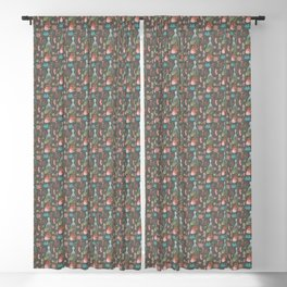 Party With The Jellyfish Blackout Curtain