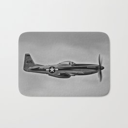 Royal Airforce Fighter Plane (Spitfire) Bath Mat
