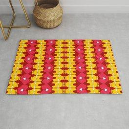 Iron Man Pattern Rug