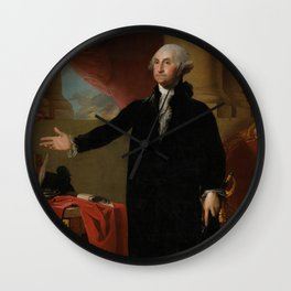 George Washington Lansdowne Portrait Wall Clock