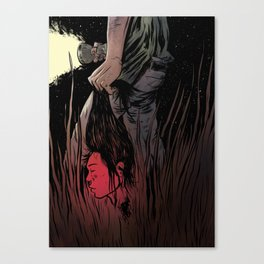 Beheaded Canvas Print