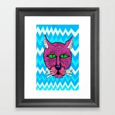 koolkat Framed Art Print