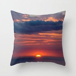 West Set Throw Pillow