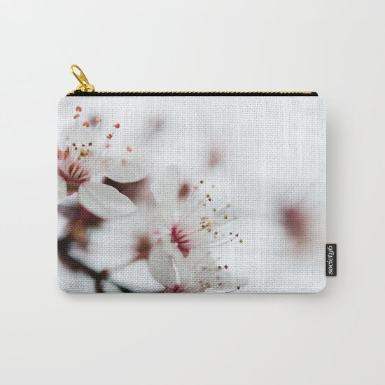 Plum Tree Carry-All Pouch
