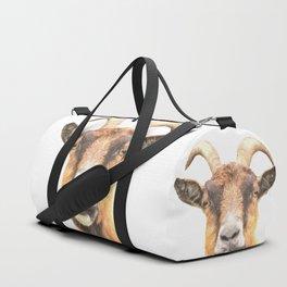 Goat Portrait Duffle Bag
