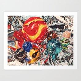 Red Giant Art Print