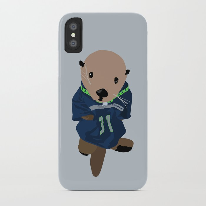 The Littlest Seahawks Fan iPhone Case