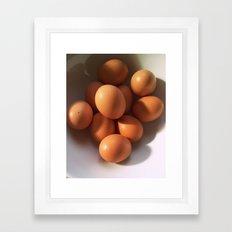 Les Oeufs Framed Art Print