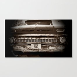 This old truck Canvas Print
