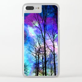 fantasy sky Clear iPhone Case