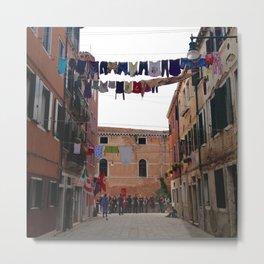 Venice, Castello, Before The Biennale Metal Print