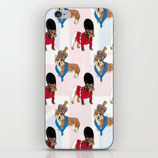 British Bulldog Guard iPhone & iPod Skin