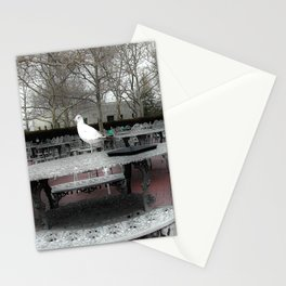 Pigeons on the Park  Stationery Cards