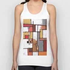Thoughts of Amsterdam Unisex Tank Top