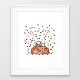 nesting season Framed Art Print