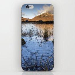 Frozen ripples. iPhone Skin