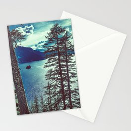 Crater Lake Vintage Summer Stationery Cards