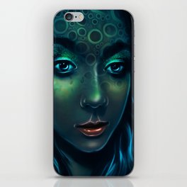 Aquamarina iPhone Skin