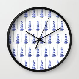 Lavender Fields Wall Clock